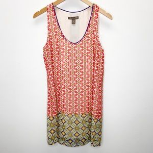 Charlie Jade Geo Print Sleeveless Mini Dress